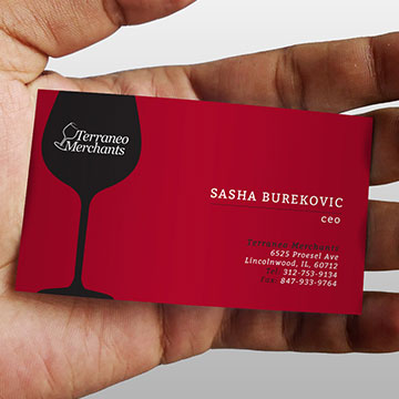 business card design logo branding