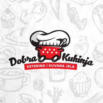 logo design dobra kuhinja cuisine food catering cooked kitchen